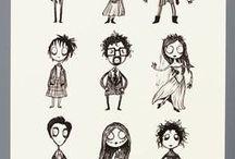 Tim Burton créature