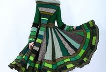 Recyled Clothing Ideas!!! / Chopped up and recombined...