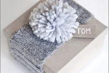 Gaveinnpakning / For dem som er glad i å gi vekk gaver og beundre sitt lille verk