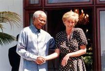 Mandela with Celebrity / in honor of Nelson Mandela