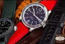 WATCH STRAPS / Leather, nato and rubber watch straps
