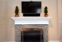 Fireplaces / Home is where the hearth is, check out some of these fireplaces.