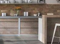 Kitchen / Enfatizzate la bellezza della vostra cucina attraverso materiali e superfici innovative ed eleganti.