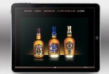 We love our brands / Nuestros trabajos y casos de éxito resumidos en un dashboard