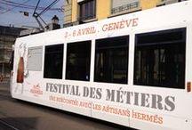 Les Artisans Hermès de passage à Genève / Du 2 au 6 avril, Bâtiment des Forces Motrices, entrée libre de 14h à 19h.