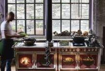 J. Corradi cookers / wooden cookers, combined also with gas or electric