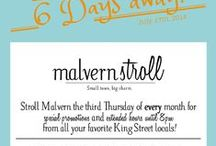 Malvern Stroll / The Third Thursday of every month - join us for the #MalvernStroll