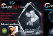 3D Laser Art / All about 3D Laser engraving and Crystal art - here, on our website and social media.