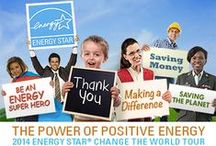 """Power of Positive Energy / Welcome to ENERGY STAR Power of Positive Energy Pinterest board. This board features videos, graphics, images, and more from ENERGY STAR's first-ever """"Change the World"""" Tour where public and private organizations across the country came together to make a difference in people's lives through energy efficiency and community service."""