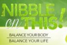Nibble on This! / Make good Nutrition easy.
