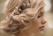 CLIENTS: Wedding Hair Inspiration / beautiful wedding hair we would love to photograph