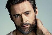 Hugh Jackman, Ryan Reynolds, Robert Dawney Jr., Gerand Butler. / Bellos / by Raquel Luna Designs