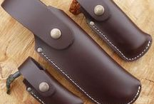 Leather products / This is a selection of the leather products currently on offer at The Bushcraft Store.  There is our own brand TBS Leather, Six Magpies Leather and GM Leather. All in all a really comprehensive range of quality leatherwork.