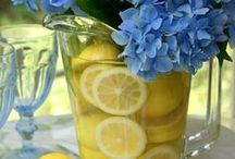 Spring Tables & Tablescapes / Almost spring...time to think about taking things outdoors again.