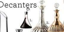 Decanters & Carafes / You may not be able to afford $100 bottles of wine, but a good decanter/carafe can elevate the taste of any bottle.    Plus, if you have nice glassware, pouring from a carafe or decanter is that extra special touch.
