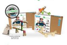 Luco Wood Bricks / Luco wood Bricks by Green Frog Educational and sustainable the perfect modern toy.