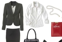 Women's Business Professional / Dressing appropriately for an interview not only gives you a feeling of success and professionalism, it shows your respect towards the person you are meeting.  Let's face it, a first impression is the most important impression of all. / by Post University Career Services