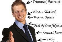 Men's Business Professional / Dressing appropriately for an interview not only gives you a feeling of success and professionalism, it shows your respect towards the person you are meeting.  Let's face it, a first impression is the most important impression of all. / by Post University Career Services