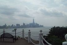 Hoboken, New Jersey / Setting for the YA novel Black Flowers, White Lies
