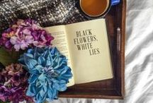 Black Flowers, White Lies YA Thriller / Inspirational images for Yvonne Ventresca's award-winning young adult psychological thriller, Black Flowers, White Lies #yalit #thriller #YANovel