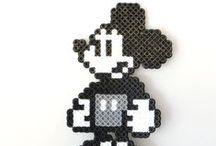 Hama Beads Disney <3 / Disney, pixar, disney channel, disny princesses.