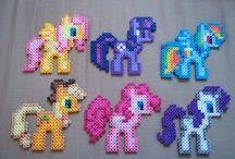 My Little Poney Hama Beads / My little poney hama beads patterns.
