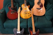 Guitars / Any & ALL GUITARS OR MUSIC RELATED / by Karen Brown