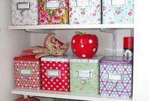 Keeping organised & Storage