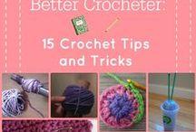 Tips and Tricks - Crochet & Knitting / Links to great tips on 'how to' in crochet and knitting