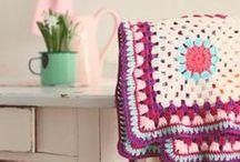 Crochet blankets plaids / Haken dekens