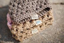 Crochet hat beanie / Haken muts
