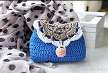Crochet bags and purses / Haken tassen en portemonnees