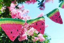 Crochet garlands / Haken slingers