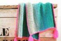 Crochet scarf sjawl / Haken sjaal