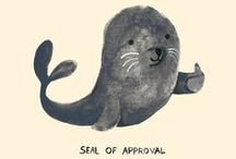Seal Cartoons & Art / Not only Blebses. Awesome seal cartoons, art, toys etc. made mostly by other people. <3
