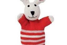 Crochet puppet / Haken handpop