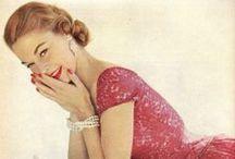 Back to fashion-1950's / 1950's--fashion, style, feminity, elegance