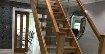 Open Staircase Plan in Crosby / Open plan staircases with glass