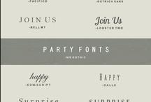 fonts / by Richelle Wingo