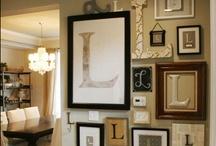gallery wall / by Richelle Wingo