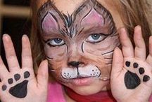 Face Painting tutorials for kids  / Face painting for kids,  face painting for birthday parties, face painting for adults