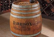 Wine Barrel Decor