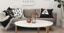 Interior Decor / Combinations of furniture, objects, colors and textures that I would love in my home.