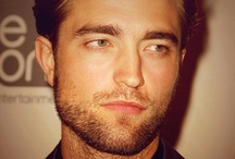Rob Pattinson / Yes, he needs a board of his own. Go ahead, raid it. YOU KNOW YOU WANT TO.  / by Sara Pupa