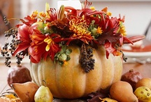 Thanksgiving & Fall / From hues of deep orange and burnt reds to fragrances of cinnamon, apple and pumpkin.  A season to enjoy with family and friends, giving thanks for all of our blessings! / by Ms Q