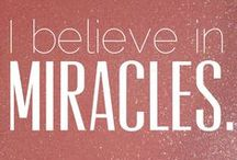 MCM Daily Affirmations / Visualization of the affirmations from Gabrielle Bernstein's book May Cause Miracles.