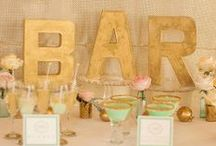 Cocktail Party Themes: Menu & Decor Ideas / Find Cocktail Party inspiration with these creative decor ideas, menu items, cocktail recipes and so much more!