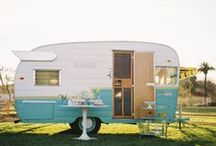 The Vintage Camper Project ♥ / I think the word Glamper is hideous.