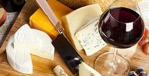 Wine + Cheese Pairings / Camembert, gruyère, gouda & roquefort: delight guests with these delectable wine and cheese pairings at your next tasting.