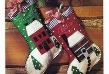 Christmas Stockings / by Barbara Poole